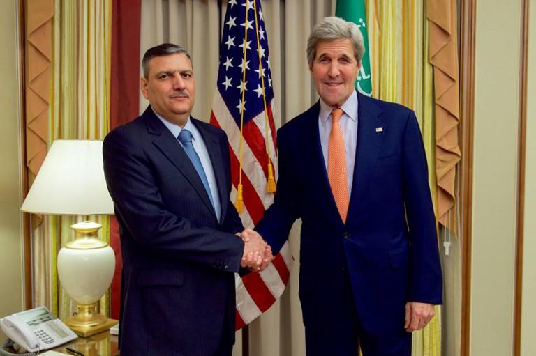 بيان توضيحي من المبعوث الخاص لسوريا مايكل راتني حول  اجتماع وزير الخارجية الأمريكي جون كيري مع قادة الهيئة العليا للمفاوضات