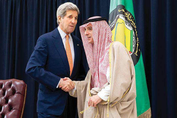 كيري يصر على بدء مفاوضات جنيف الأسبوع الجاري والجبير يؤكد «التعاون مع واشنطن لإنهاء دور الأسد»