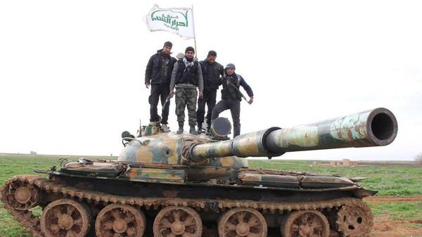 أحرار الشام تؤكد: لم نوقع على وقف إطلاق النار بسوريا