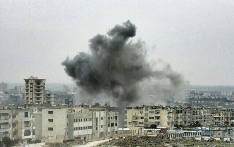 مجزرة جديدة لقوات النظام في حي الوعر وسط البلاد