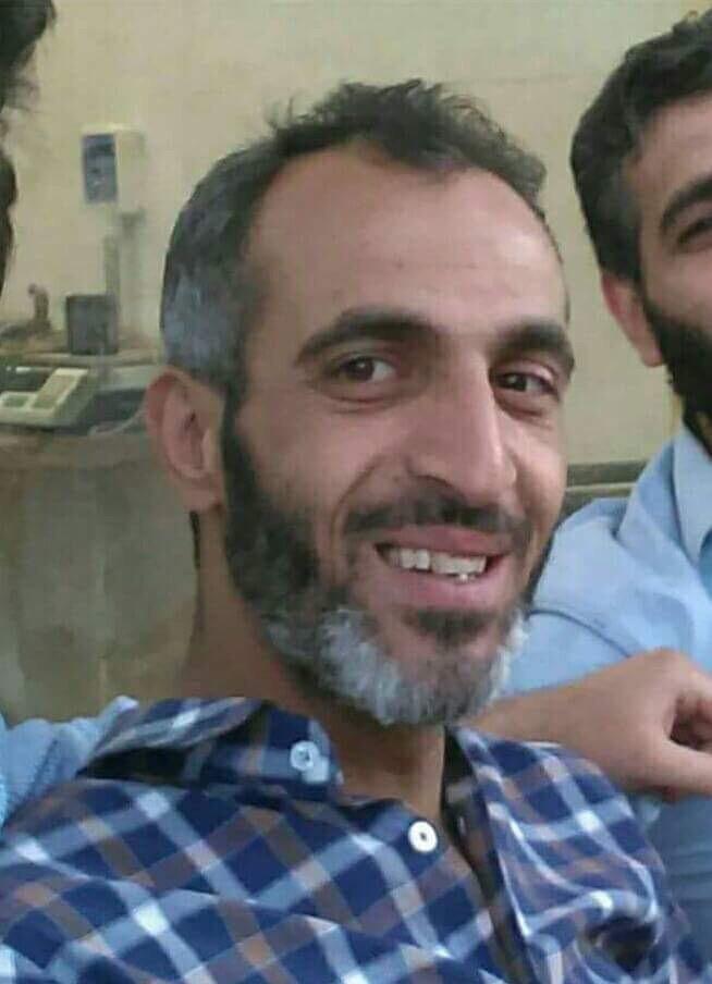 نداء إنساني : مفقود، الاسم: عدنان الحيون ، فُقد في مدينة الباب بعد استشهاد عائلته منذ عشرة أيام