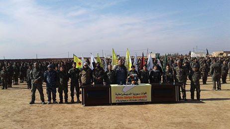 مليشيات صالح مسلم تعلن بدء المرحلة الثالثة من معركة الرقة