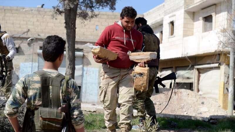"""ألغام تنظيم داعش تودي بحياة العشرات في """"الباب"""""""