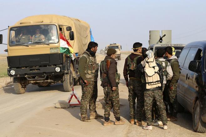 الميليشيات الكردية تعتقل أكثر من 20 شاب في الحسكة ضمن حملة التجنيد الإجباري
