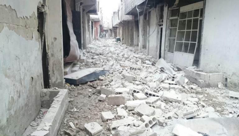 دمشق: قوات النظام تفشل في اقتحام برزة والقابون وحرستا.