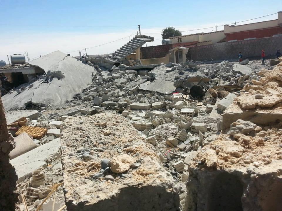 أكثر من 17 شهيد في ريف الرقة معظمهم جراء غارات التحالف.