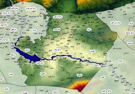 نسبة الأكراد في مدينة الرقة حسب دراسات المخابرات السورية