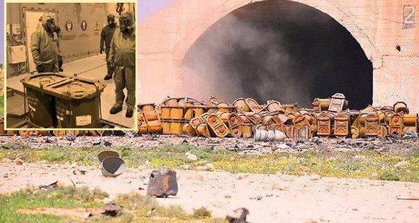 """هل ظهر سلاح الأسد الكيمياوي بعد قصف """"توماهوك"""" الأميركي؟"""