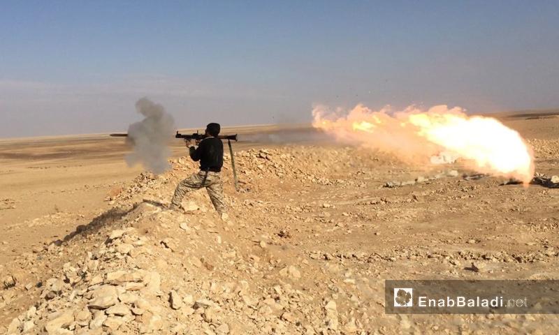 """""""الجيش الحر"""" ينفي تقدم قوات الأسد إلى """"الزرقة"""" قرب التنف"""