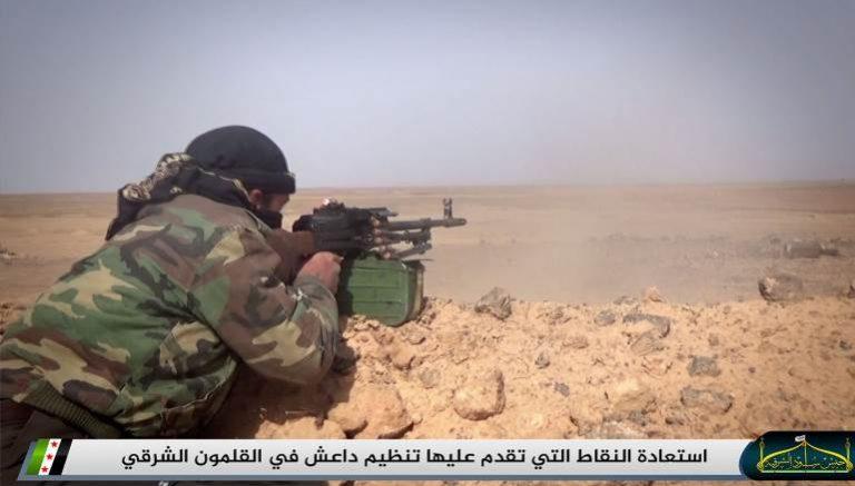 معركة البادية السورية:النظام والمعارضة يتسابقان إلى السخنة