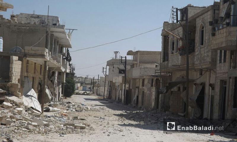 """قنابل """"الكرملين"""" دمّرت بلدات حماة"""