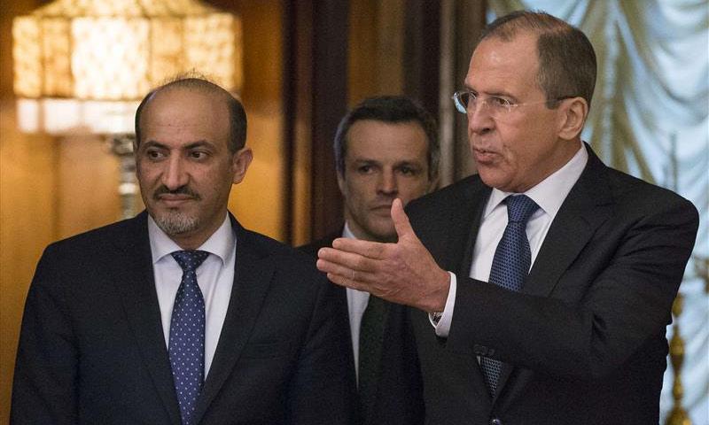 """الجربا يبحث عن دعمٍ """"رابع"""" في موسكو"""