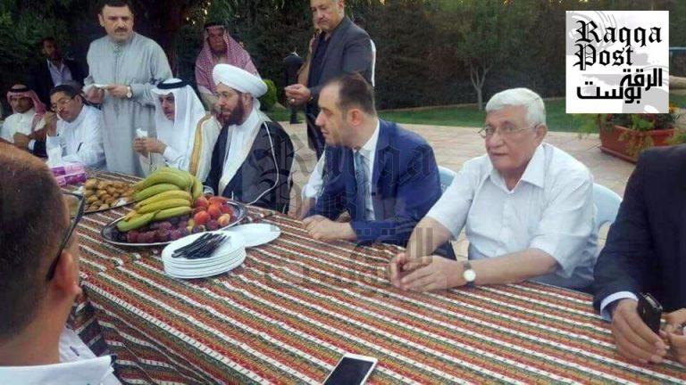 الشيخ محمد الفيصل في ضيافة الحسون وزهر الدين والهدف الرقة
