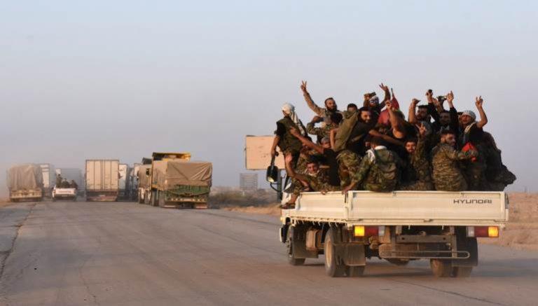 داعش يستعيد السيطرة على ريف ديرالزور الجنوبي