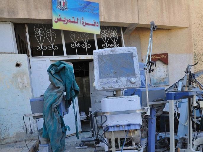 الوضع الصحي يتدهور في مدينة الرقة وسط اشتداد وتيرة المعارك.
