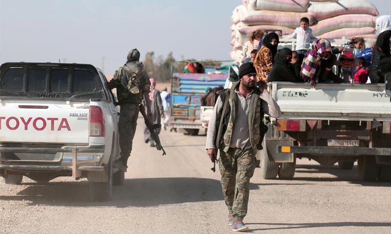 """""""التحالف"""": محاربة قوات الأسد وقسد لـ """"داعش"""" مجرد """"صدفة"""""""