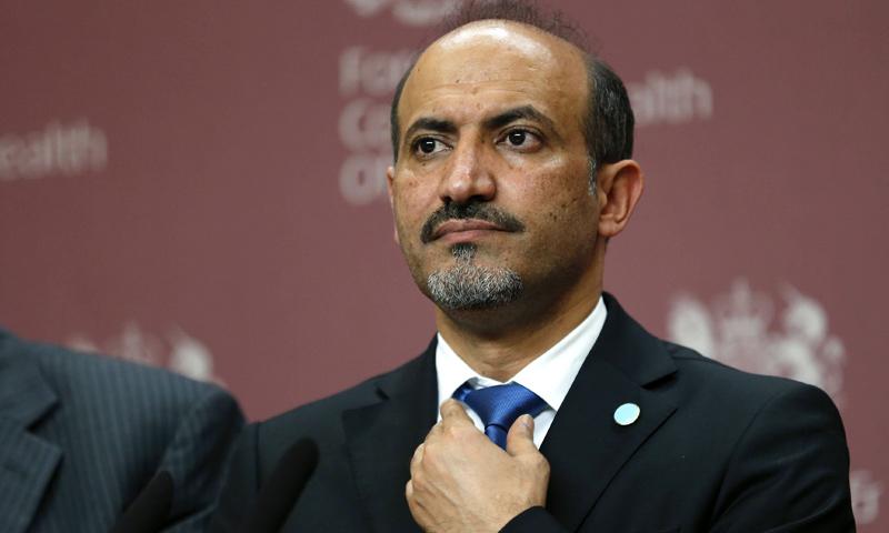 الجربا يدعو المعارضة السورية للجلوس مع النظام