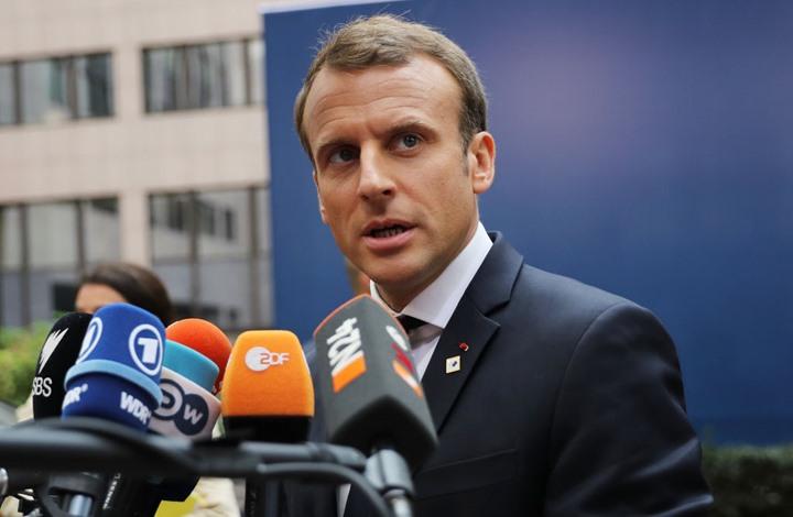 ماكرون يرد على الأسد بعد اتهامات بدعم الإرهاب