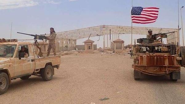 """عين الحرس الثوري الإيراني على منطقة """"التنف"""" السورية"""
