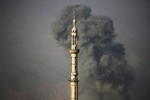 مقتل 15 مدنياً بغارات للنظام  على الغوطة الشرقية بدمشق