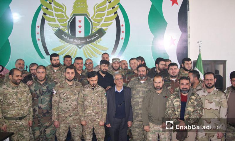 """الحكومة المؤقتة تعلن تشكيل """"الجيش الوطني السوري"""""""