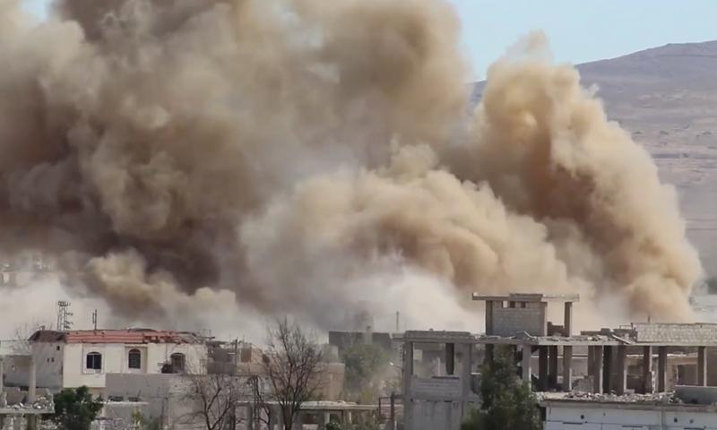 70 ألف برميل متفجر ألقاه طيران النظام منذ عام 2012