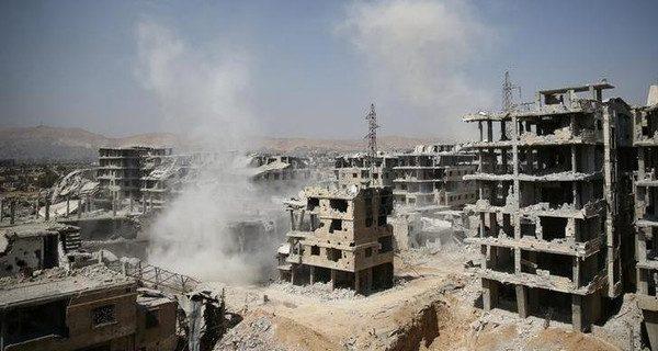 غارات روسية تقتل 23 مدنياً في الغوطة الشرقية