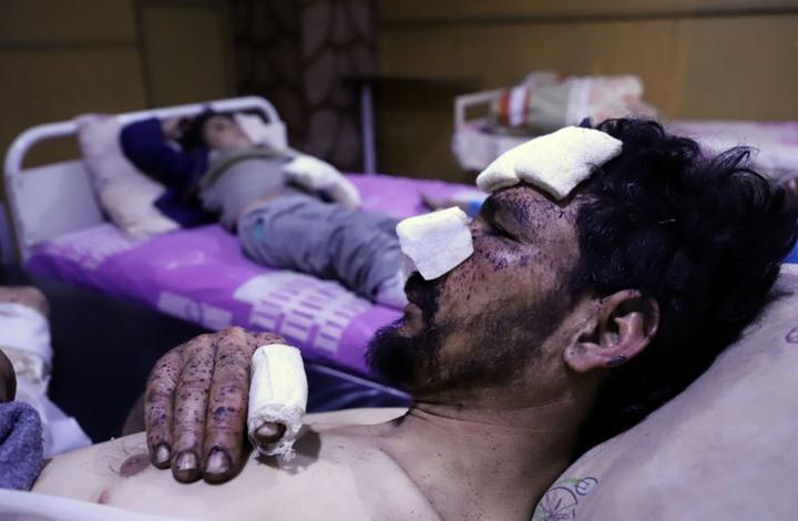 12 يوما من القصف على الغوطة يخلف 674 قتيلا (إنفوغراف)