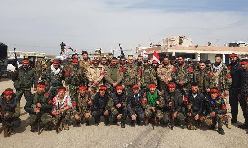 """""""لواء القدس"""" يعلن التوجه إلى الغوطة الشرقية للمرة الثانية (صور)"""