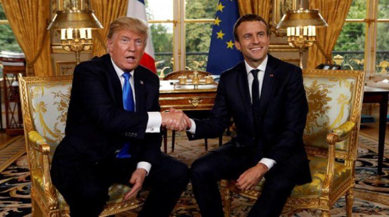 باريس وواشنطن «لن تتسامحا» مع أي استخدام للأسلحة الكيماوية بسوريا