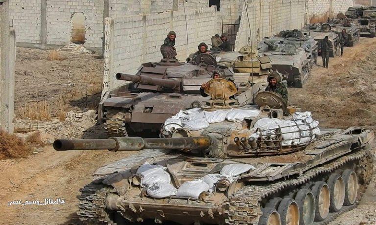 قوات الأسد تعلن شطر الغوطة الشرقية إلى قسمين