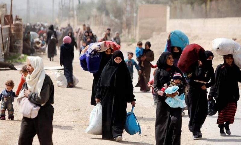 """""""نداء أخير"""" من الغوطة لحماية 250 ألف مدني"""