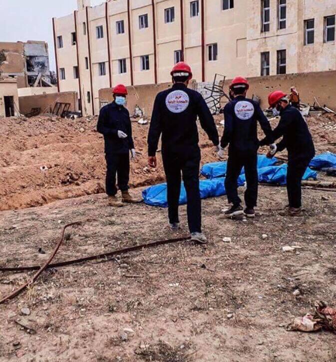العثور على مقبرة جماعية في الرقة تضم رفات 300 ضحية