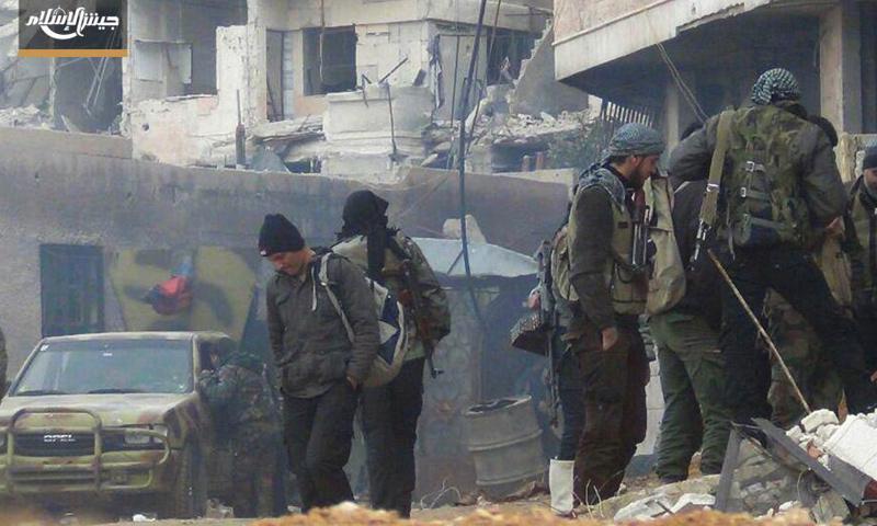 """تركيا ترفض دخول """"جيش الإسلام"""" إلى جرابلس"""