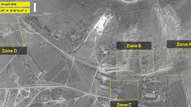 """خريطة توزع """"القواعد الإيرانية"""" في حماة وأهميتها العسكرية"""