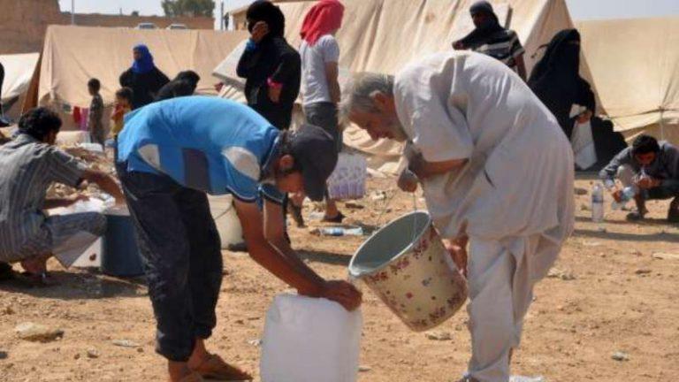 """الكوليرا تهدد حياة قاطني مخيمات دير الزور التي تسيطر عليها """"قسد"""""""