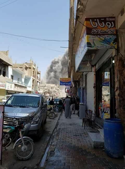 انفجار سيارة مفخخة في مدينة الرقة