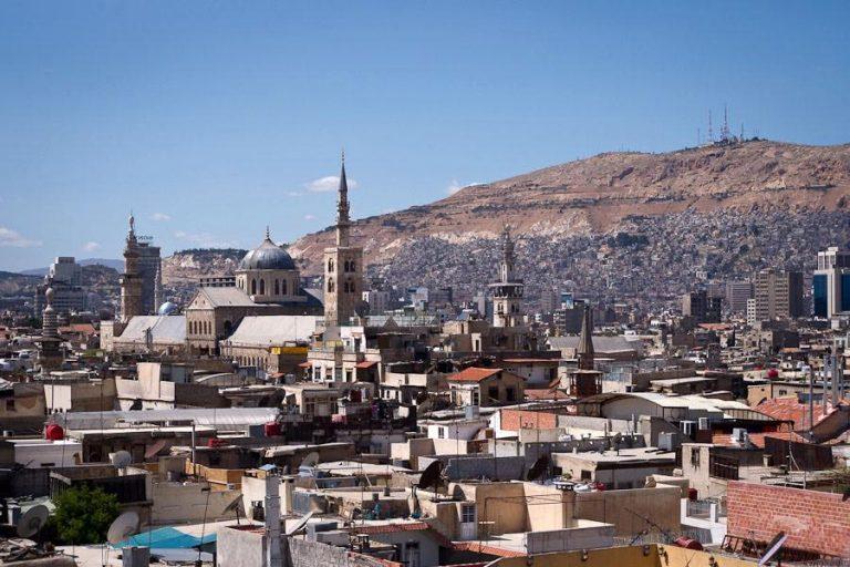 البغدادي في أزقة دمشق..!