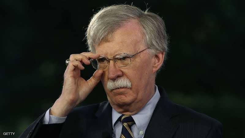 """بولتون يتحدث عن """"فرصة"""" لإنهاء الوجود الإيراني في سوريا"""
