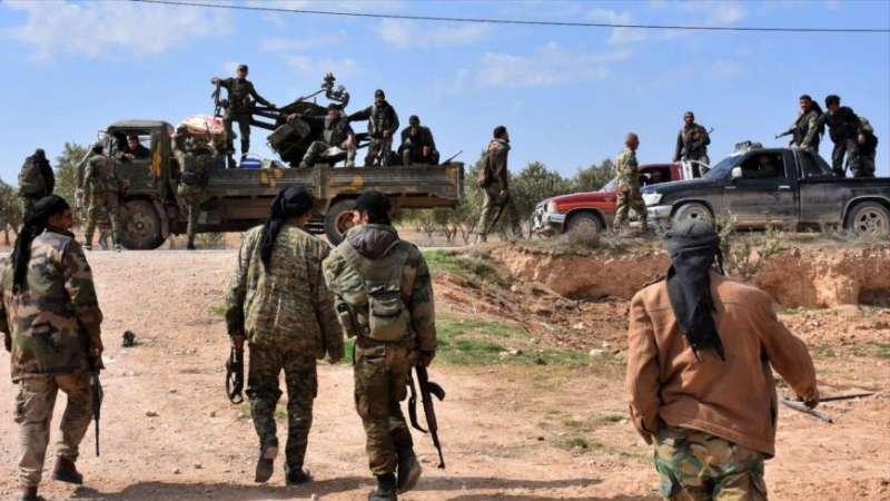 """قتلى باشتباكات بين """"الفرقة الرابعة"""" وميليشيات إيران في البوكمال"""