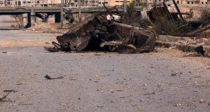 التحالف يقصف مواقع داعش بريف دير الزور بصواريخ أرض أرض