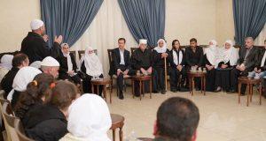 الأسد يستخدم سلطان باشا الأطرش لإقناع شباب السويداء بالالتحاق بقواته (فيديو)