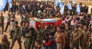 150 قتيل من أبناء الرقة في معارك داعش خلال اسبوعين بريف دير الزور الشرقي