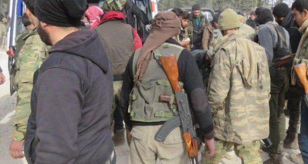 """اشتباكات بين """"تحرير الشام"""" و""""أحرار الشام"""" في ريفي إدلب وحماة"""