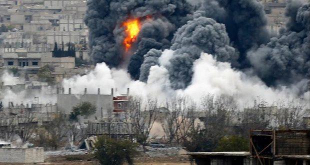 مقتل 25 مدنياً في ديرالزور إثر غارات للتحالف الدولي