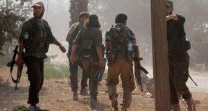 نتائج الاشتباكات بين الفصائل المقاتلة على النازحين شمالي سوريا