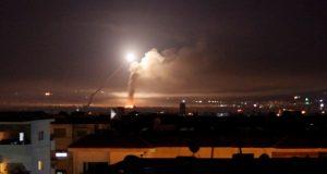 قصف صاروخي على دمشق.. سانا: إصابة أحد المستودعات في المطار