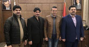 """عائلة قاطرجي تؤسس شركة """"فولاذ"""" في حلب"""