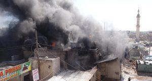 لليوم السابع على التوالي ..ميليشيا أسد تقصف المنطقة منزوعة السلاح في إدلب