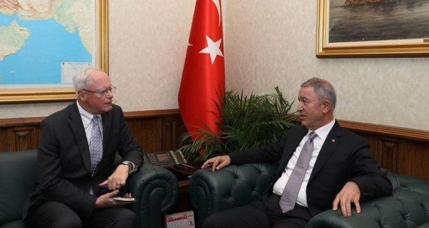 مباحثات أمريكية تركية حول إنشاء منطقة آمنة